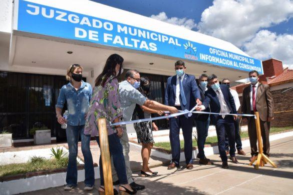 Aniversario e inauguraciones en Victorica