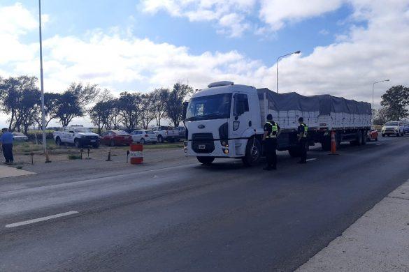 Operativo múltiple de control del Transporte y prevención de Trata en el Puesto Caminero Realicó